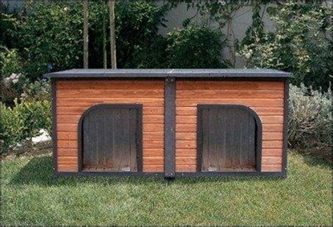 two dogs in a house 30 cozy and creative dog houses for your furry friends