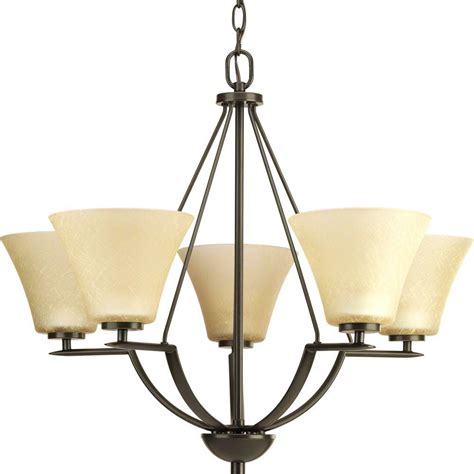 progress lighting bravo collection 5 light antique bronze