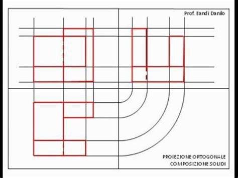 proiezione ortogonale sedia proiezione ortogonale composizione di solidi 1