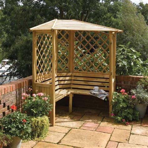 Garden Arbor With Seat 30 Garden Arbour Seats On Offer Gardener