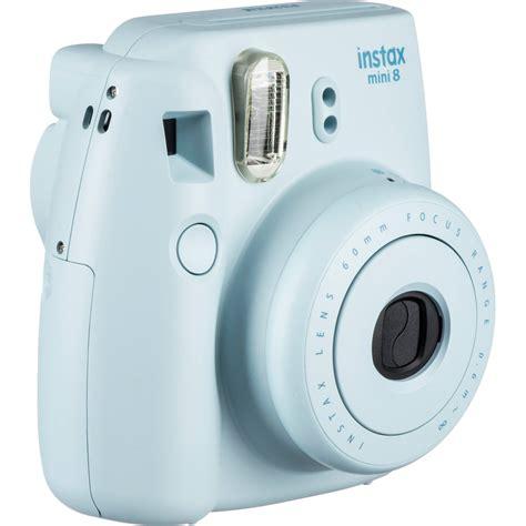 Fuji Instax Mini 8 by Fujifilm Instax Mini 8 Instant Blue 16273439 B H