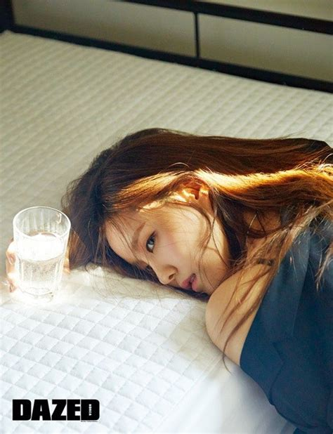 hyomin sketch album scan hyomin shows lazy sunday look with dazed