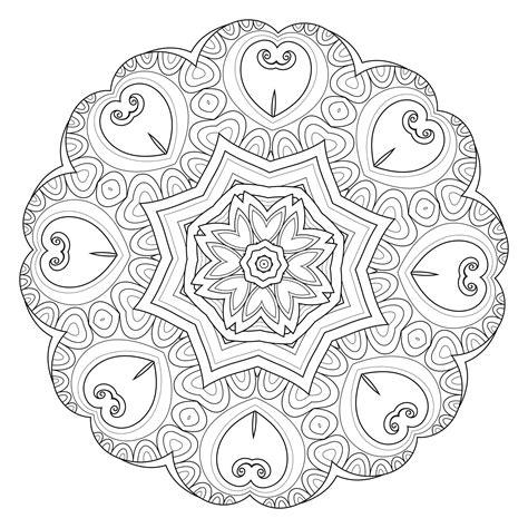 imagenes de mandalas navideñas para pintar m 225 ndalas para colorear dibujos mandalas para imprimir