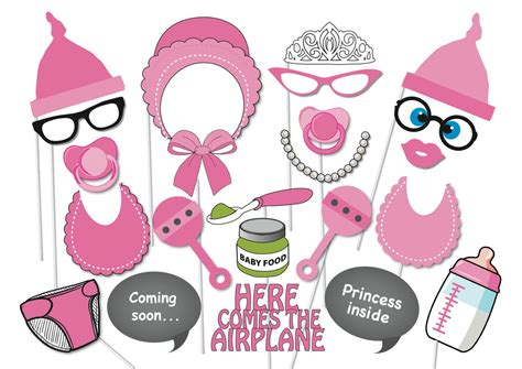 free printables for baby shower photo booth item details