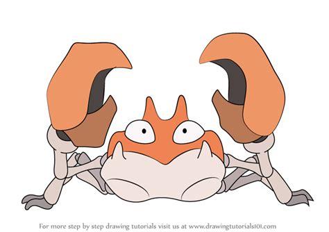 learn   draw krabby  pokemon pokemon step