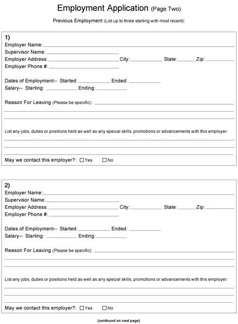 chicken express printable job application job application printable apa exles