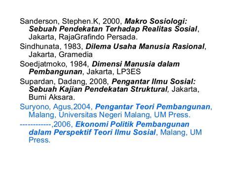 teory teory ilmu sosial