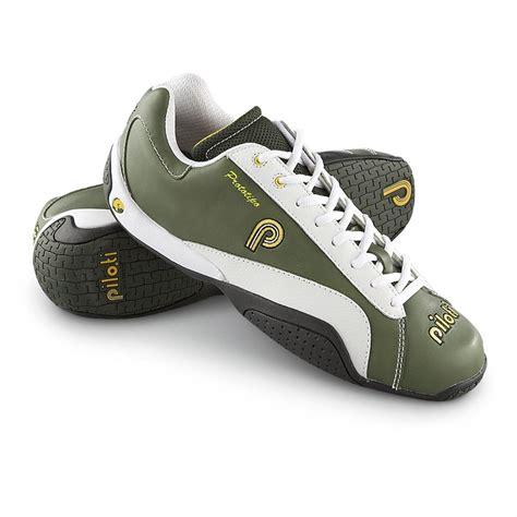 driving shoes s piloti 174 prototipo driving shoes green white