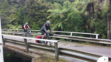 Solar Panels Highway 321 - cycling the forgotten world highway get outdoors nz