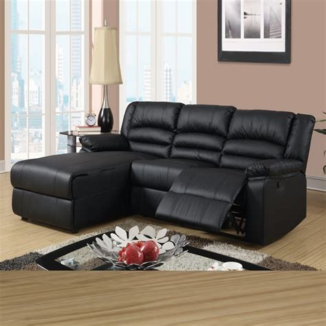 leather reclining sectional sofa with chaise rooms