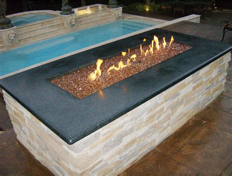 Copper Reflective Diamond Fire Pit Glass 100 Lb Glass Pits