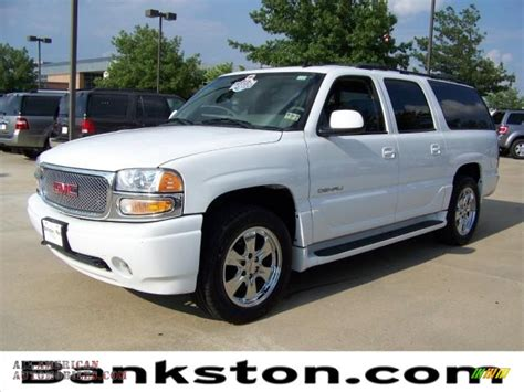 automobile air conditioning repair 2006 gmc yukon denali navigation system 2006 gmc yukon xl denali awd in summit white 142936 all american automobiles buy american