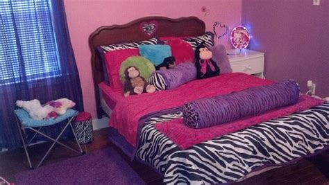 hot pink and purple bedroom 17 best images about purple pink zebra
