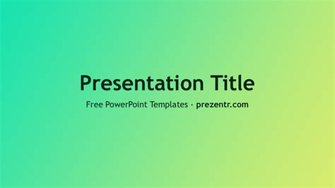 flat design powerpoint template free flat design gradient powerpoint template prezentr