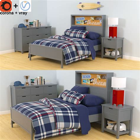 Set Boy pottery barn sutton furniture set boys bedroom