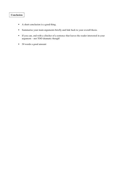 structure extended essay structure of an extended essay