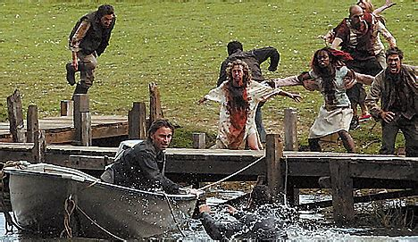 boat parts zombies london four years after 28 days later daily mail online
