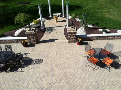 Paver Patio Nj by Paver Patio Installation New Jersey Masonry Contractor