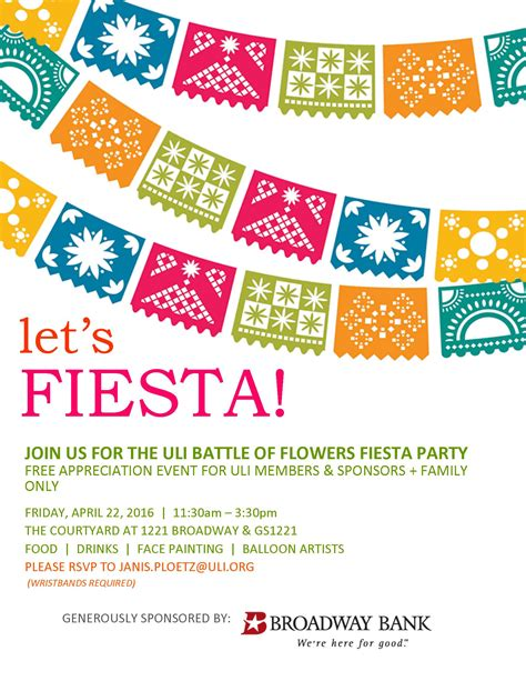 Fiesta Party Flyer Template