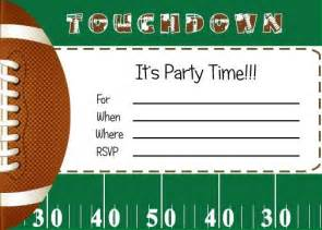 free printable boys sports birthday invitations