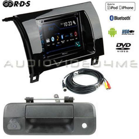 pioneer double din bluetooth stereo+backup camera+toyota