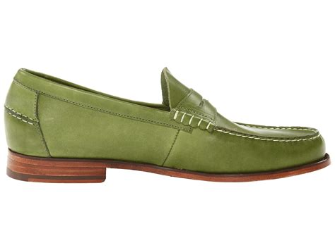 florsheim loafers florsheim by duckie brown loafer in green for