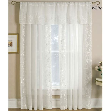 Sheer Window Curtains Semi Sheer Window Treatments