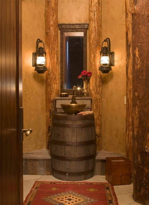 western bathroom decorating ideas western take on the bathroom home design ideas pinterest