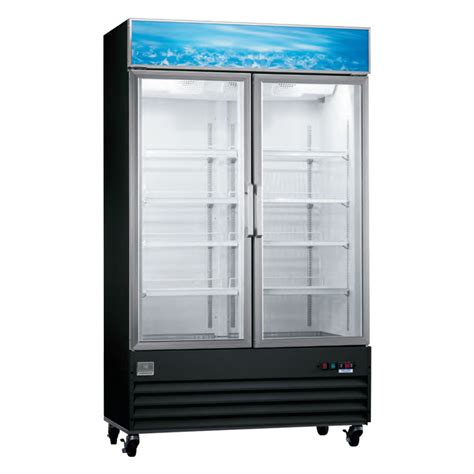 Commercial Freezer Glass Door 27 Cu Ft Glass Door Commercial Freezer Husky