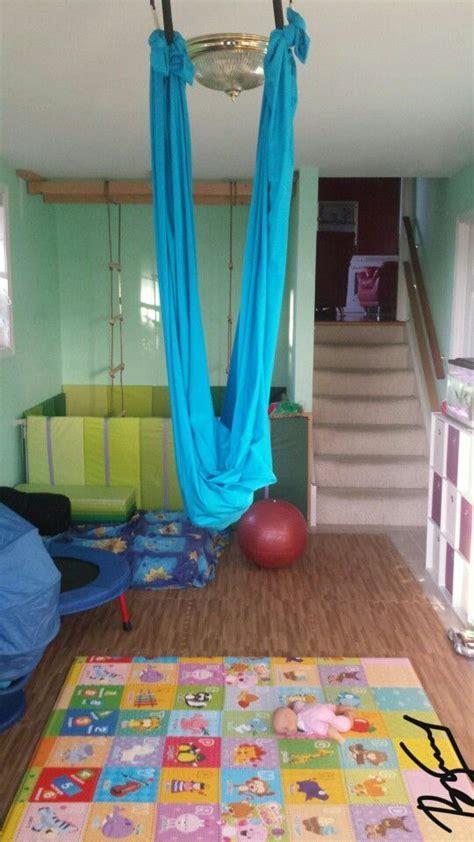 sensory swing ikea part of our sensory room an easy diy lycra swing 3 yards