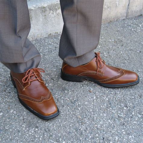 Dress Shoe Alternatives by Rocus Carl S Wingtip Vegan Dress Shoe Brown Clearance By Alternative Outfitters Vegan