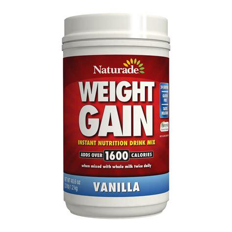best gainer protein naturade weight gain vanilla 40 6 oz naturade