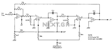 high pass filter variable audio filter circuit page 3 audio circuits next gr