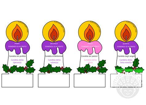 candele per bambini candele dell avvento pieghevoli per bambini tuttodisegni