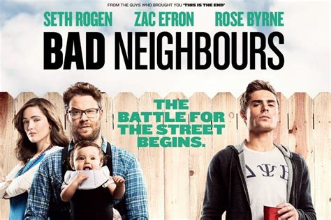 how to make a film in a neighbors town neighbors bad neighbours 2014 movie review the