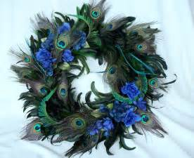 Decorating Ideas Using Peacock Feathers Peacock Home Decor Wreath Feathers By Amorevivo On