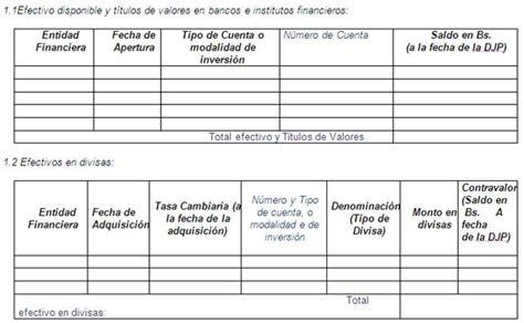 declaracion jurada de apertura de cuenta corriente manual de organizaci 243 n y de normas t 233 cnicas para la