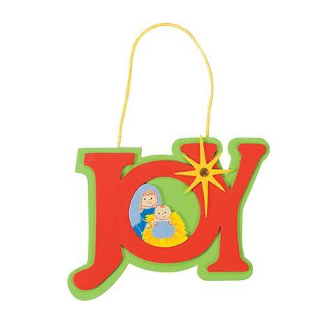 ornament craft kit joy nativity ornament craft kit trading