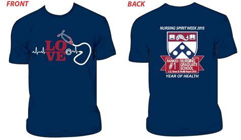 design t shirt for alumni penn alumni penn nursing t shirt sale
