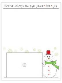 Holiday Letter Template Free Free Christmas Letter Templates