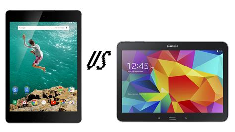 Samsung Tab 3 Vs Tab 4 nexus 9 vs samsung galaxy tab 4 10 1 comparison tech advisor