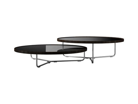 Modloft Coffee Table Adelphi Nesting Coffee Table Black Lacquer On Cathedral By Modloft