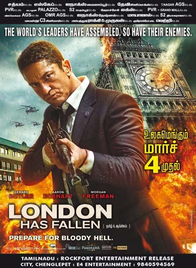 Film London Has Fallen Adalah | london has fallen 2016 tamil movie