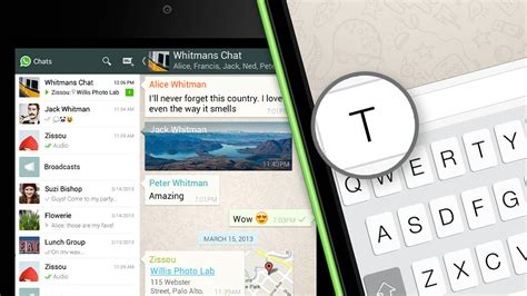 whatsapp messenger for android tablets ios android how to use whatsapp with the tablet