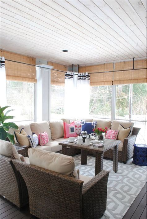 3 season porch furniture 25 best ideas about screened porch decorating on