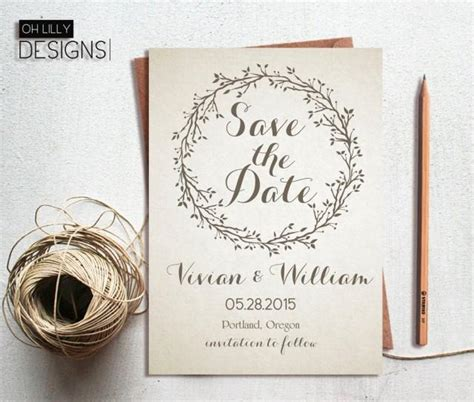 wedding card nice photo the best wedding rustic save the date invitation printable save te date