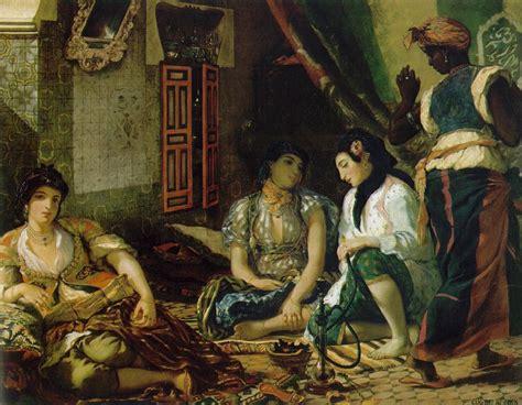 donne di algeri nei loro appartamenti donne di algeri delacroix