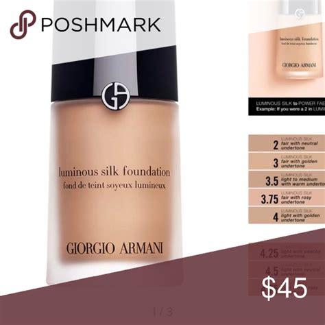 Harga Giorgio Armani Foundation giorgio armani luminous silk foundation 45 spec dan
