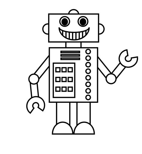 coloring pages for robot from future robots coloring pages and robot craft ideas