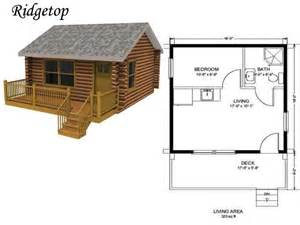 pin trapper cabin plan on